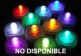 Velas LED sumergibles