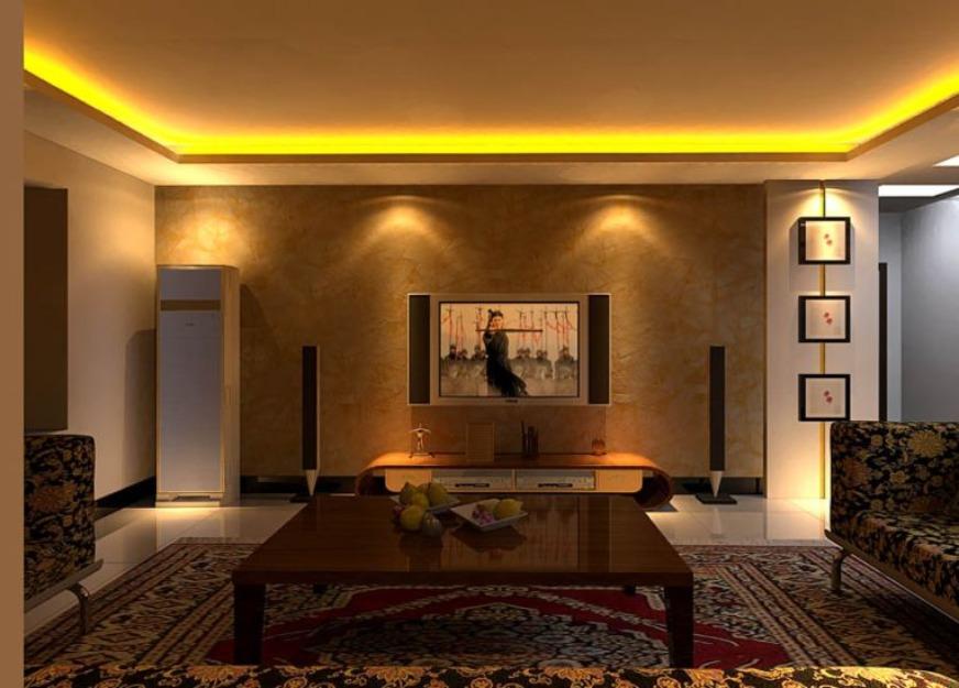 La iluminaci n secreto de la decoraci n de interiores - Iluminacion led para casa ...