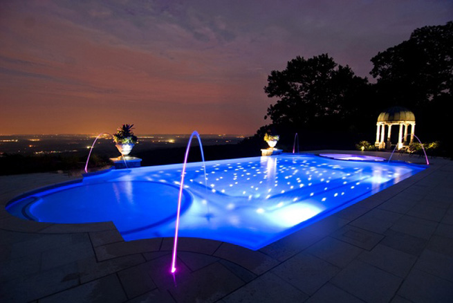 lamparas led de piscina