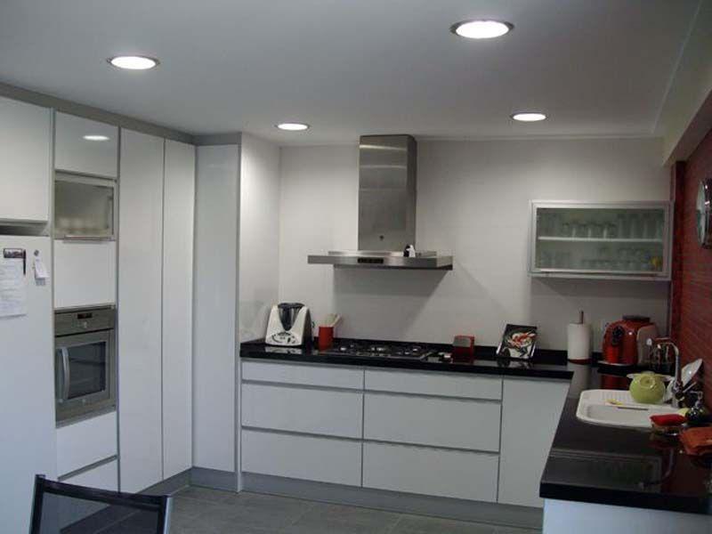 Encantador Ideas De Iluminación Empotrado Para Cocina Galería ...