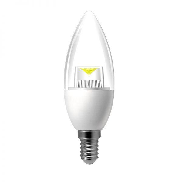 VELAS LED BK 5 WATTS BASES E14 /E12 CW