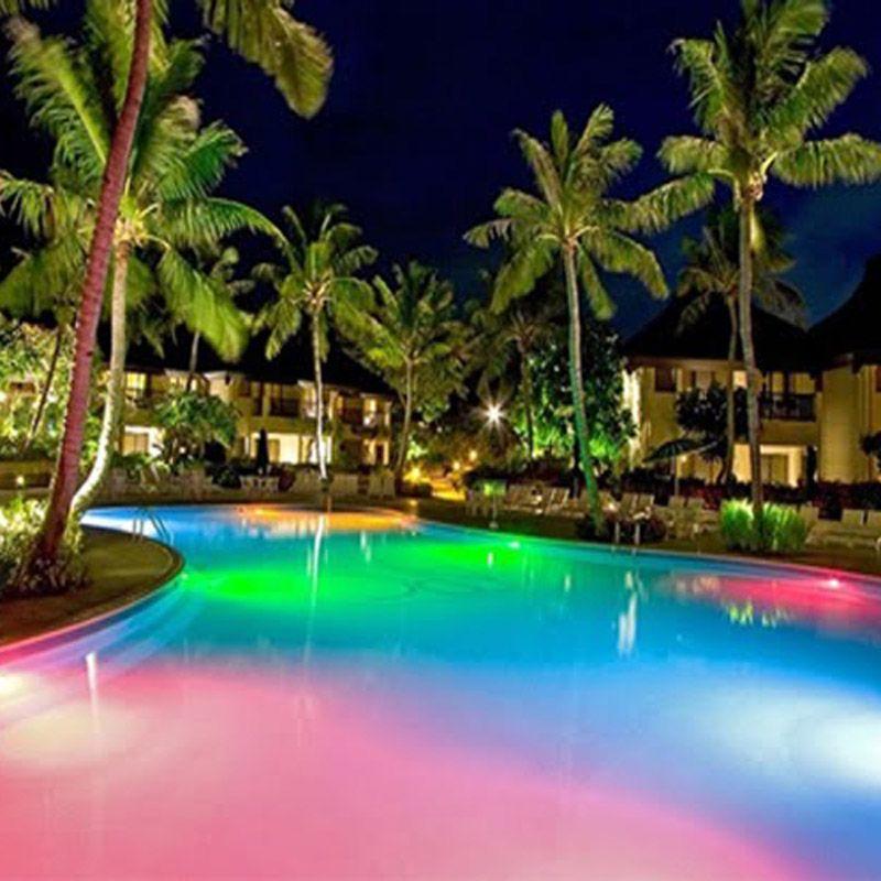 L mpara led piscina 36w rgb ip68 mundo led for Focos piscina led colores