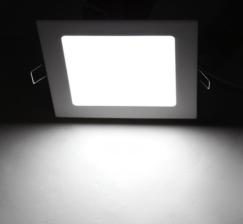 PANEL LED CUADRADO 12 W CW/WW 110V