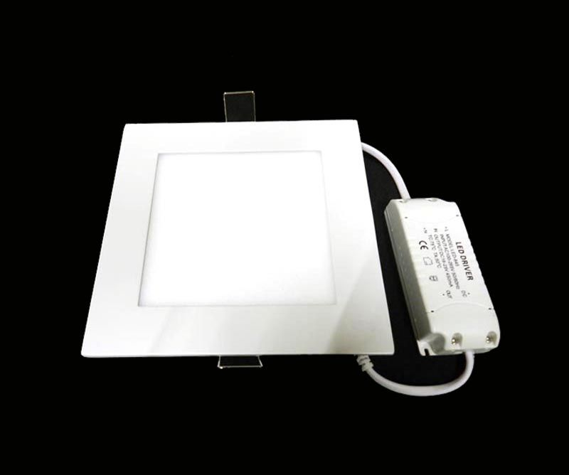 PPANEL LED CUADRADO 12 W CW/WW 110V