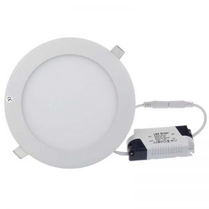 PANEL LED CIRCULAR 9 W CW/WW 110V