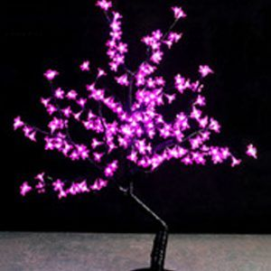 ÁRBOL LED ROSADO 192 LUCES 10W 110V