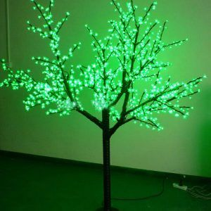 Árbol LED verde 480 luces 25W 110V