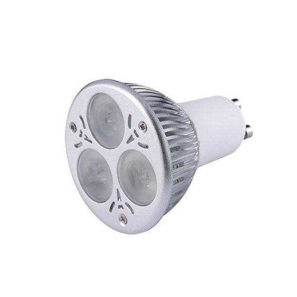 BOMBILLA LED DICROICA DIMEABLE 3X2 W /MR16/GU10/ CW-WW