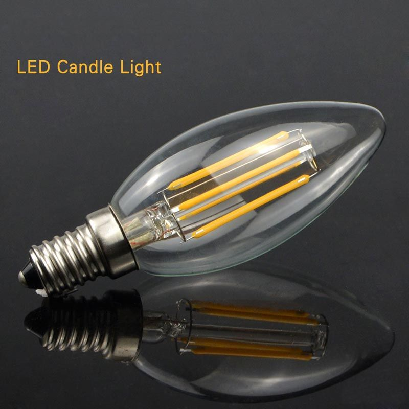 Vela LED Filamento 4W E12