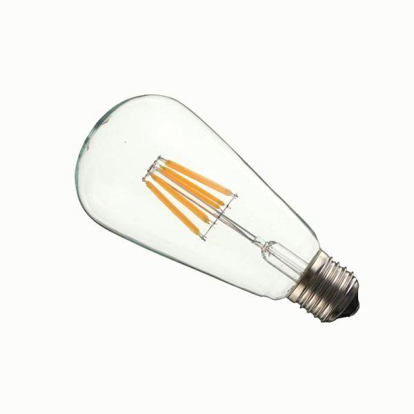 Bombillo LED Vintage amarillo 6W E27