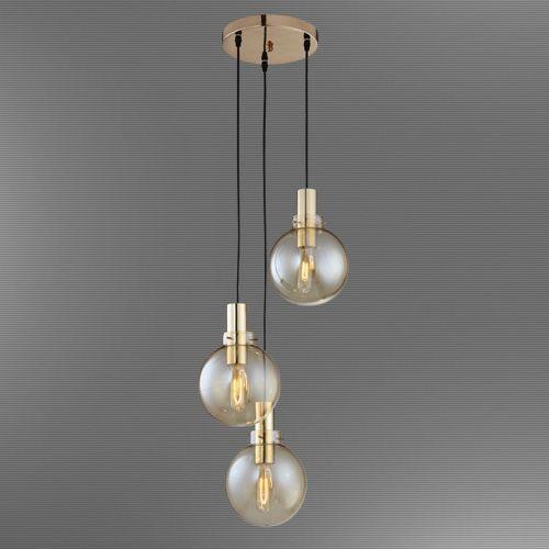 L mpara decorativa modelo 3 bolas cristal bombillos no for Bolas de cristal decorativas