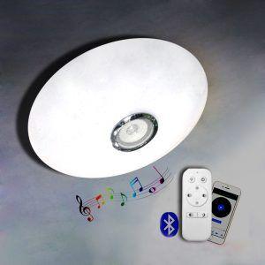 LAMPARA LED TECHO DIMEABLE CON,SPEAKER
