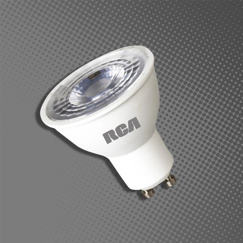 DICROICA LED GU10-2700K_4100K- 5W- RCA