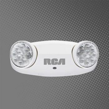 LÁMPARA DE EMERGENCIA RCA 2 FOCOS 85-277V