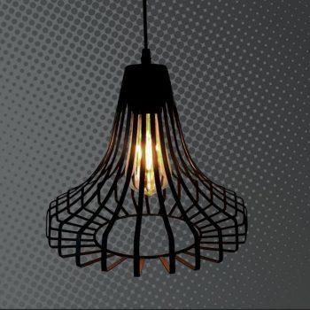 LAMPARA REJILLA 3880