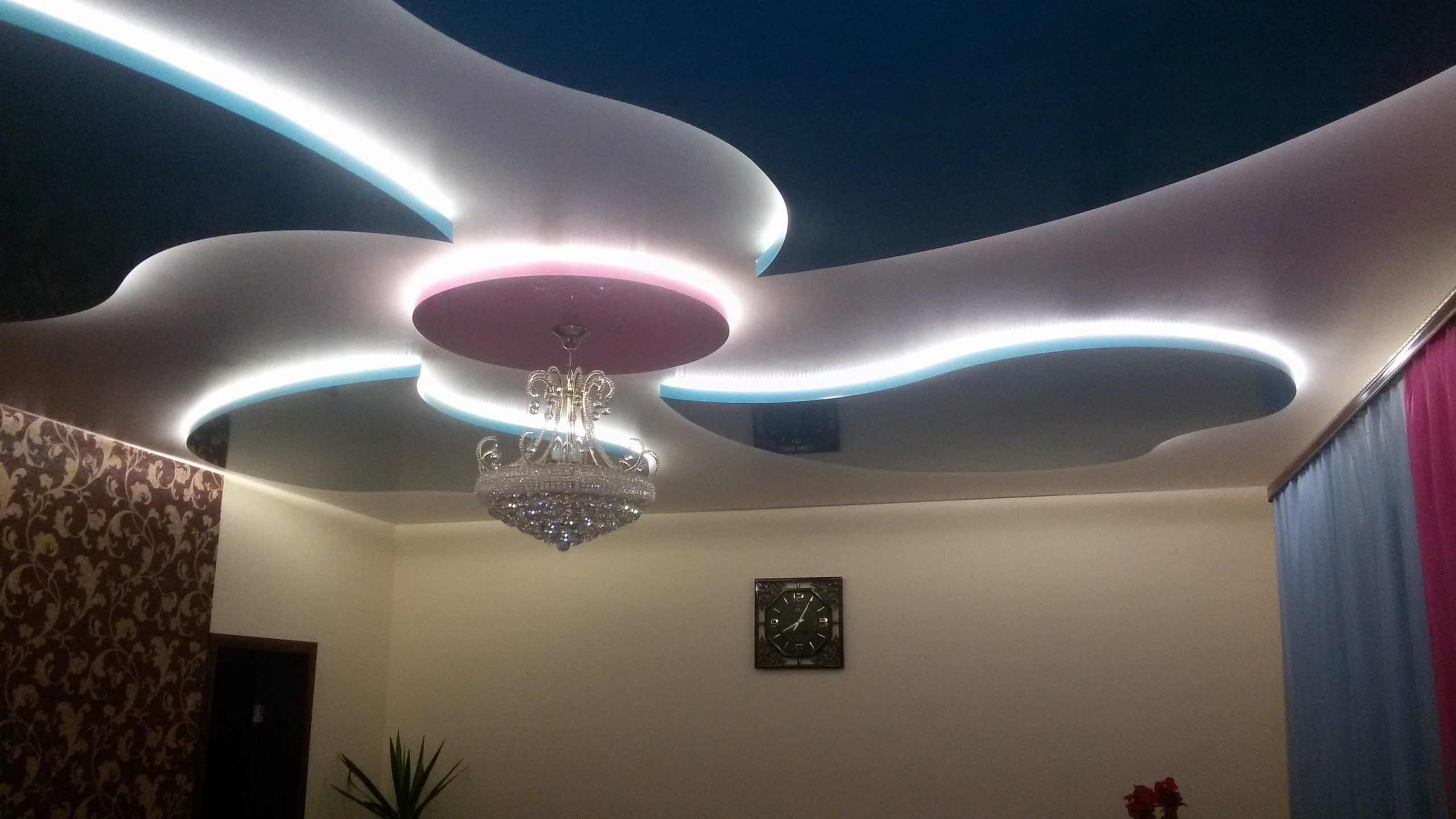 Decoración con cintas LED